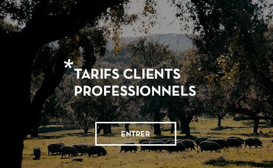 Tarifs clients Professionels